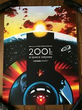 2001: A Space Odyssey Movie Poster Art Print Stanley Kubrick Joshua Budich Daisy