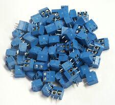 100 Printklemmen Anschlussklemmen Leiterplattenklemme Klemmenblock , 2 polig