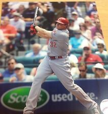 Jay Bruce 4 Cincinnati Reds unsigned  Photofile  8x10 Photo Redsfest