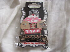 Disney Trading Pins 94865: DSF- Ice Cream Train- Peg, Pedro, & Bull