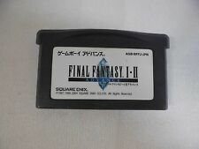 GBA -- Final Fantasy 1・2 -- Can data save! Game Boy Advance, JAPAN Game. 41200