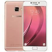 "New Imported Samsung Galaxy C5 Duos Dual 64GB 4GB 5.2"" 16MP 8MP Pink Gold"