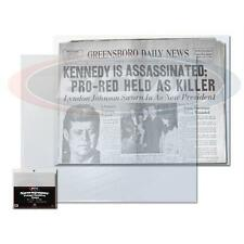 1 Pack 100 BCW Newspaper Sleeve Bags Storage Holder Protection 13 3/8 X 11 7/8