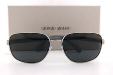 Brand New GIORGIO ARMANI Sunglasses AR 6029 3003/87 Matte Gunmetal/Grey   Men