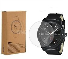 2 X 100% genuine Tempered Glass Screen Protector for LG Watch R W110 smartwatch