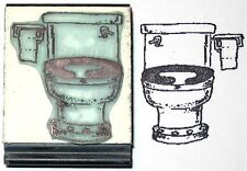 Toilet Rubber Stamp by Amazing Arts weird but fun!