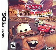 Cars: Mater-National Championship (Nintendo DS, 2007) Rated E for Everyone