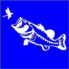 "FISH sticker vinyl decal  8""  x  5""  Decal  Many colors FREE US SHIPPING"