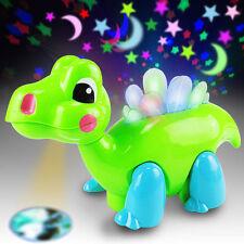Neu Baby Kinder Musik Glänzende Tanzen Projektor Drachen Tier Spielzeug Geschenk