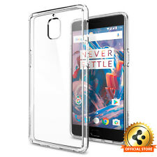 OnePlus 3 Three Case Spigen®「Ultra Hybrid」Clear Back Protective Cover Case