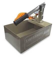 Swissnox A3 Befüllpumpe Handpumpe Solarpumpe Testpumpe Druckprobe Abdrückpumpe