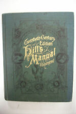 Antique HILL'S MANUAL *ETIQUETTE*Social & Business Forms*Manners*Writing*Duties