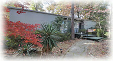 Mid-century modern home design, Lee House, architectural plans,