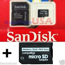 16GB SD Memory Stick MS Pro Duo Memory Card 16 GB FOR Sony PSP Cybershot Camera