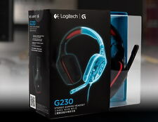 Logitech G230 STEREO Gaming Headset with Noise Cancelling Microphone