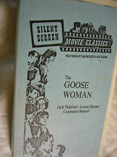 THE GOOSE WOMAN JACK PICKFORD NTSC VHS SMALL BOX