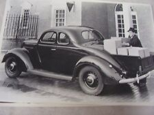1937 FORD COUPE WITH FACTORY PICKUP BOX 12 X 18  LARGE PICTURE  PHOTO