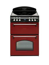 Leisure GRB6CVR Double Oven Electric Cooker