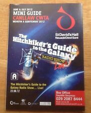 The Hitchers Guide To The Galaxy. Radio Show Live. Flyer