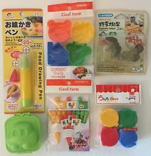 Big Lunch Bento Box Kit Accessories Lot With Divider Cups, Food Pen, Mayo Cups