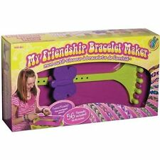 MYFBM FRIENDSHIP BRACELET MAKER KIT WITH 56 THREADS + STORAGE - NEW GIFT AGE 6+