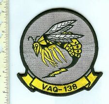 Military Patch USN VAQ-138 Yellowjackets  LG Jacket SZ