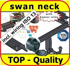 Towbar & Electrics ISO 13pin Vauxhall Vectra C Hatchback Saloon 02-09 swan neck