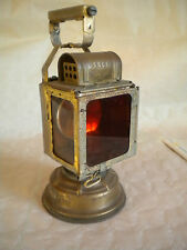 Vintage SNCF French Railways Carbide lamp lanterne