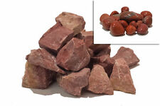Stone tumbling Rock - 1kg RED JASPER Lapidary Rough Rock