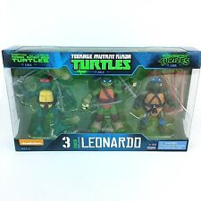 Teenage Mutant Ninja Turtles Leonardo Evolution 3 Pack Exclusive Action Figures