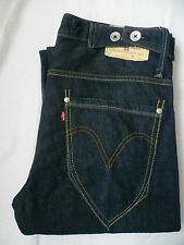 LEVI'S 503 MENS LOOSE JEANS STRAIGHT LEG W32 L32 STRAUSS BLUE LEVF200
