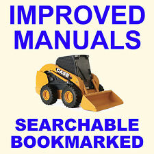 CASE TR270, TR320 & TV380 Alpha Series Compact Track Loader Service Manual CD