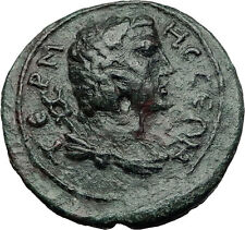 TERMESSOS MAJOR in PISIDIA 2-3CenAD HERMES ATHENA Ancient Greek Coin i58320