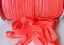 3m of Soft Premium Fold Over Elastic 15mm,  baby headband 63 COLOURS AVAILABLE