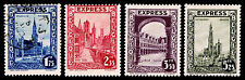 1929 BELGIUM #E1-E4 SPECIAL DELIVERY - NEW & USED - VF - CV$23.55 (ESP#8799)