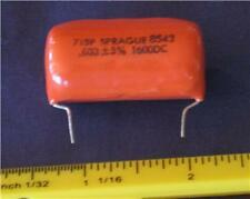.033uf 1600v Polypropylene Film RADIAL Capacitor ( Qty 5 ) *** NEW ***