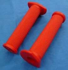 HONDA TRX 450R TRX450R ODI RUFFIAN ATV SINGLE PLY GRIPS RED THUMB THROTTLE