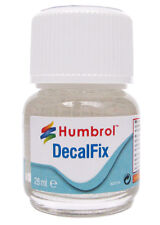 Humbrol AC6134 Water Based Decalfix For Fixing Decals 28ml Glass Bottle New