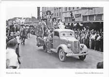 "*POSTCARD-""Flocked Truck for The Parade""-Charro Days @ Brownsville, Texas (#15)"