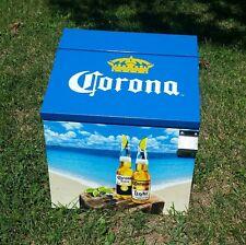 Rare Metal Corona Light Cooler Ice Chest Beer Sign Find Your Beach Bottle Opener