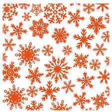Marianne design embossing folder-flocons de neige noël background-DF3420