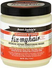 Aunt Jackie's Fix My Hair Intensive Repair Conditioning Masque 15 oz