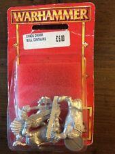 Chaos Dwarf Bull Centaurs New In Blister Rare Metal Warhammer Dwarves   OOP