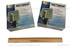 (2) ILCO KEY CABINETS W/ NUMBERED KEY TAGS 10 Key safe locksmith lock pick tool