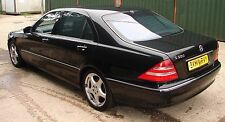 MERCEDES S-CLASS W220 S500L BREAKING ALL PARTS 1999-2005