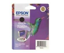 EPSON ORIGINALE T0801 TO801 NERO R265 R360 RX560