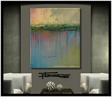 PAINTING ABSTRACT CANVAS MODERN WALL ART LARGE 36in ELOISExxx