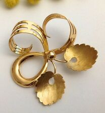 SPILLA D'EPOCA IN ORO GIALLO 18KT - 18KT SOLID YELLOW GOLD VINTAGE BROOCH