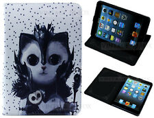 Per iPad Mini 1 2 3 V MAGIC OWL & CAT guidata Bambini Kids Fun STAND CASE COVER