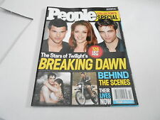 NOV 2011 PEOPLE magazine (NO LABEL) UNREAD - TWILIGHT BREAKING DAWN